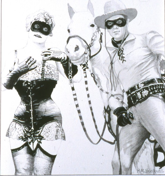 Lone Ranger and the Masked Maiden
